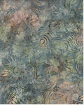 Wildflower Swirls - Wilmington Batiks 22056 - 479 - Slate