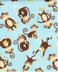 Coconut Grove  Monkey Toss 38759-425 - Ivory