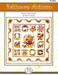 Baltimore Autumn Applique Pattern - P3 Designs