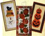Leap into Fall Applique Wall Hanging Pattern