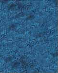 Scroll Swirl - In The Beginning Fabrics 7AH1 - Dark Blue