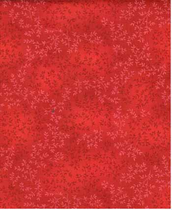 Willow Tonal Leaf - Timeless Treasures C4794 - Cherry