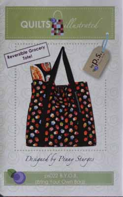 Reversible Grocery Tote by Quilts Illustrated