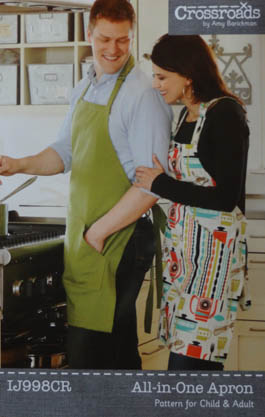 All-in-One Apron Pattern by Amy Barickman for Indygo Junction