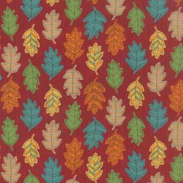 Forest Fancy - Moda 19715-13 - Red