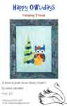 Happy Owlidays Applique Pattern - Finishing Touch