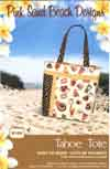 Tahoe Tote Pattern by Pink Sand Beach Designs