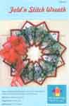 Fold'n Stitch Wreath Pattern by Kristine Poor