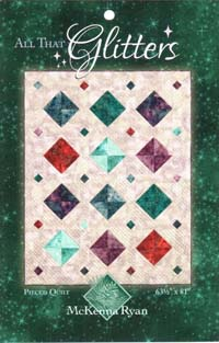 All That Glitters Pattern from Pine Needles Designs
