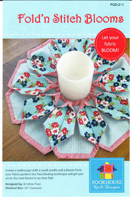 Fold'n Stitch Blooms Pattern by Kristine Poor