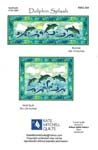 Dolphin Splash Applique Pattern