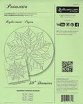 Judy Niemeyer - Poinsettia Table Topper Replacement Papers
