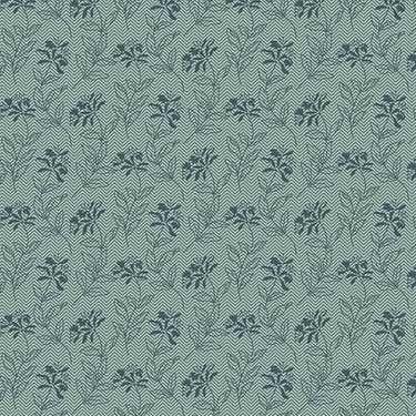 Sage - Bed of Roses Andover 8990-T - Teal