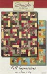 Fall Impressions Pattern - Antler Quilt Design